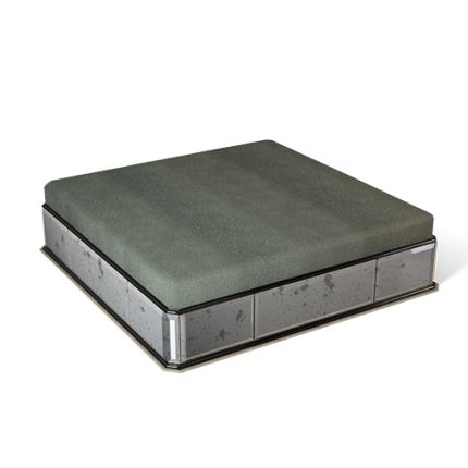 This fine-looking CARRÉ square ottoman pays fitting tribute to the carré-cut diamond - one of our favourite jewels and the principal inspiration for this collection. Like the fabulous diamond, this CARRÉ ottoman has a simple, elegant shape, with cut corners, and reflects the light beautifully from its polished, flawless surfaces of coloured bevelled mirror. #carre #handmade #ottoman #coffeetable #interiors #decor #diamond #highend #luxury #design #MARIIANIQ #luxuryliving #mirror #antique