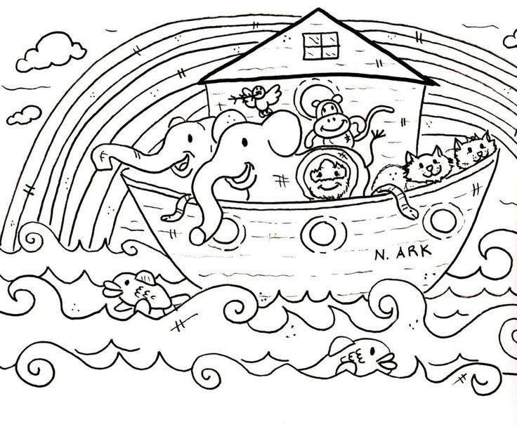 top 25 best bible coloring pages ideas on pinterest colouring noahs ark