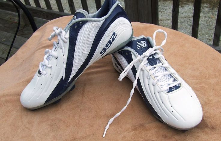 #Football cleats for sale on ebay super cheapNew Balance Cleats White/Navy 9.5 Mens MF992LB Low Football/Lacrosse idea#NewBalance CLick on the image to be taken to the auction