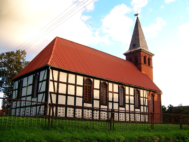Kirche in Drawehn/Drzewiany