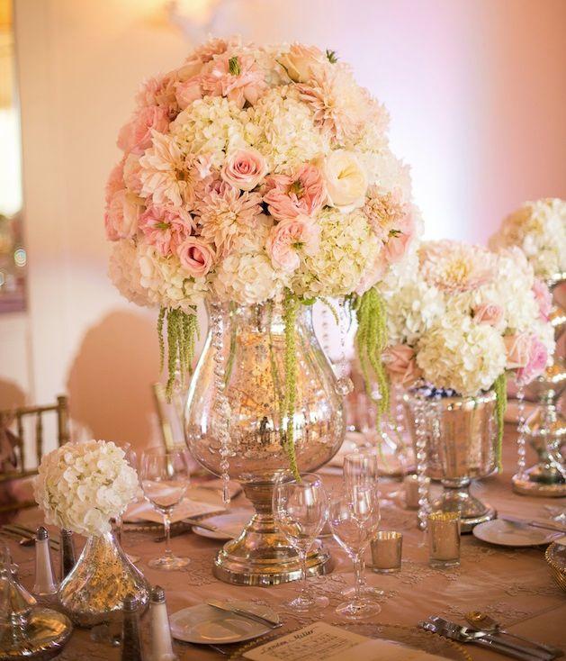Picture perfect ballroom wedding centerpiece ideas for Small wedding centerpieces