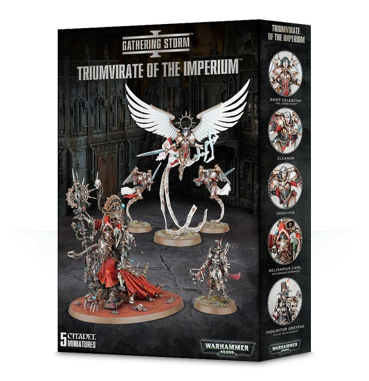 Triumvirate of the Imperium - Element Games - Warhammer and Warhammer 40k Store