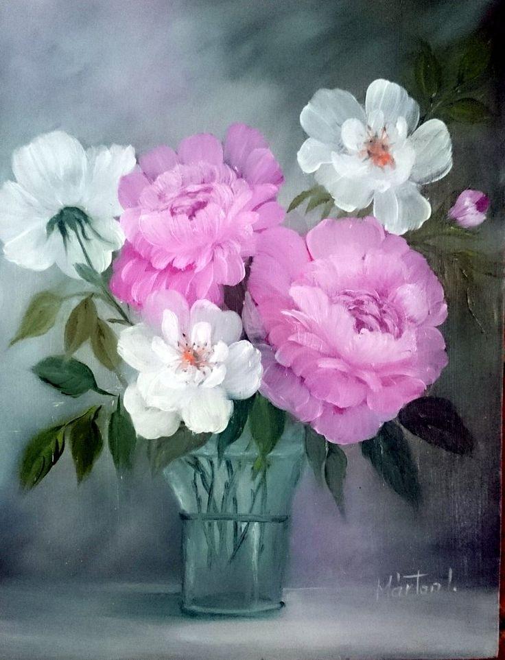 50 x 40 csendelet, oil painting