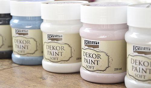 Pentart dekor: Dekor Paint Soft