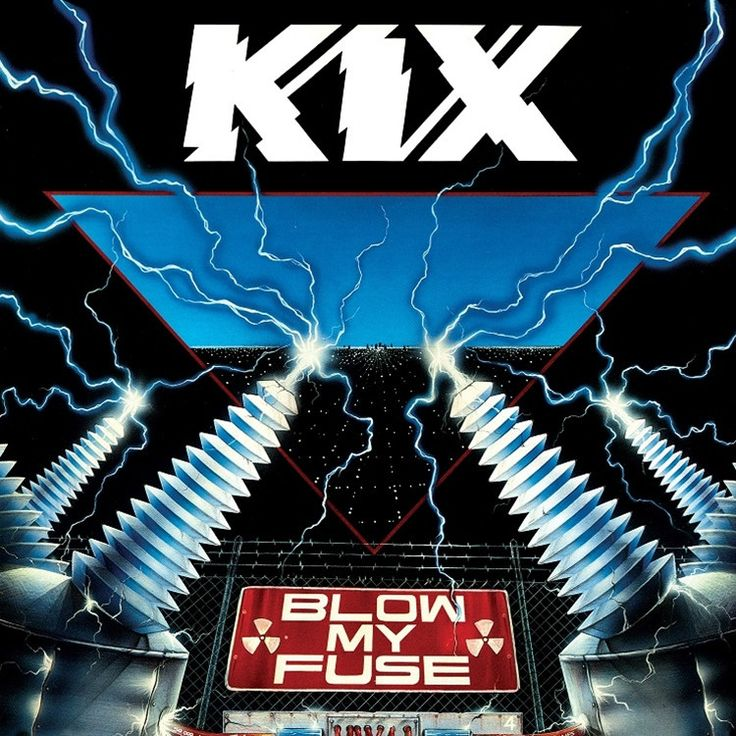 Kix - Blow My Fuse on Limited Edition 180g LP from Friday Music