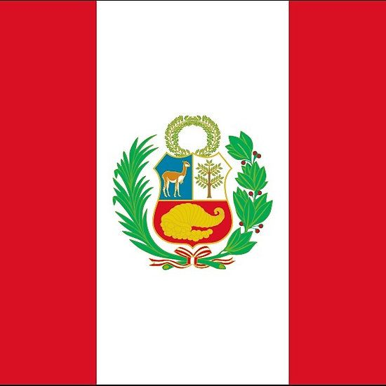Peru Flag Stickers (civil)