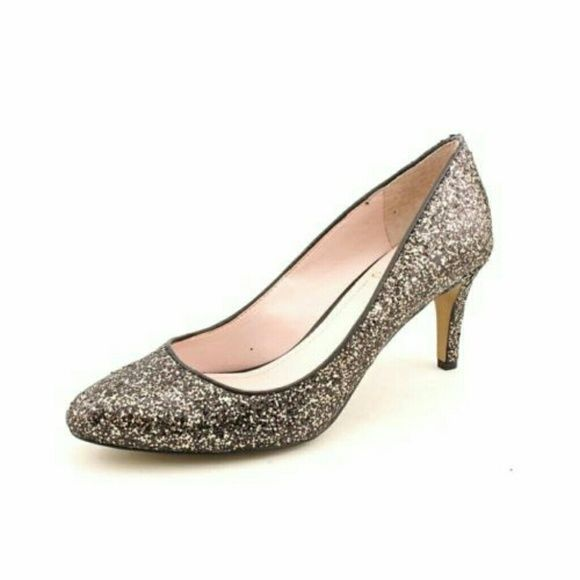 "women's silver pumps heels shoes new with box, collars are peeling. color: Bronze material: Synthetic measurements: 3"" heel width: Medium Vince Camuto Shoes Heels"