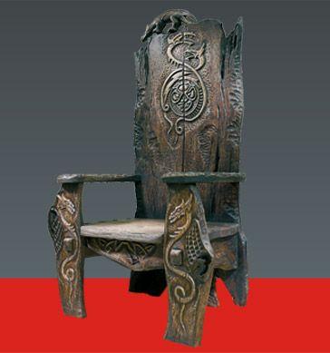 Авторская мебель — Царский трон — Кресло «Василиск»