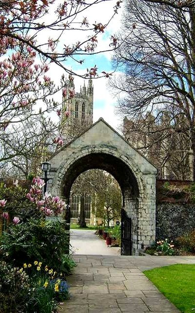 The Cemetery Gate of Canterbury Cathedral, Kent, England. | Grantchester, as seen on Masterpiece PBS