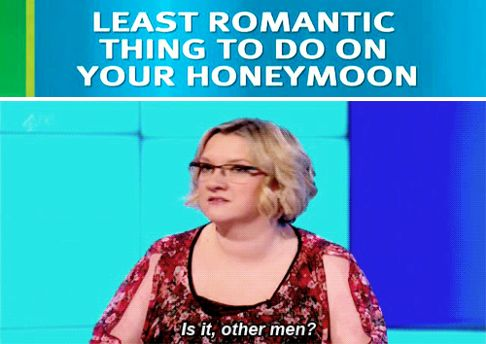 When she had a very obvious answer to this question. | 23 Times Sarah Millican Proved She's The Funniest Woman In Britain