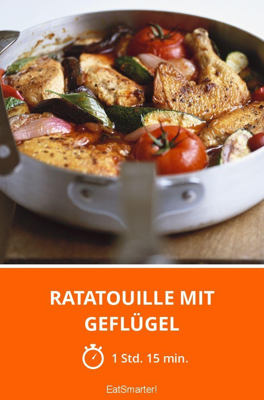 Ratatouille mit Geflügel - smarter - Zeit: 1 Std. 15 Min.   eatsmarter.de