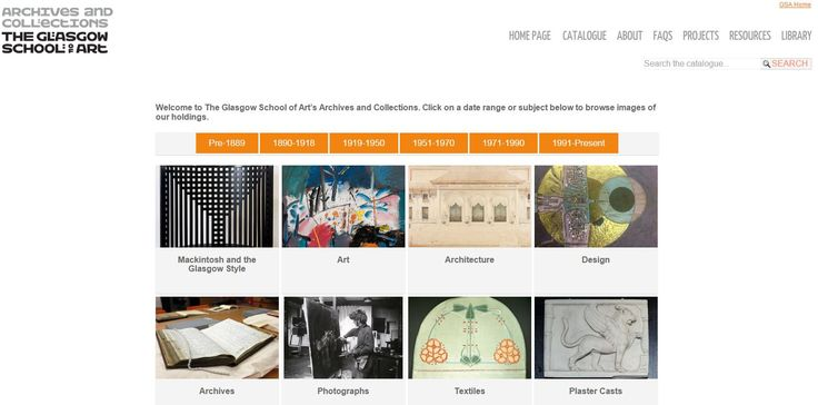 The GSA Archives and Collections Homepage