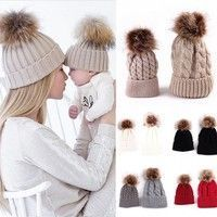 2pc Mother and Baby Snow Beanie | Best Discount Beanies