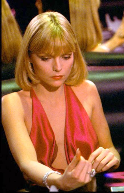 Michelle Pfeiffer as Elvira in the movie Scarface ...