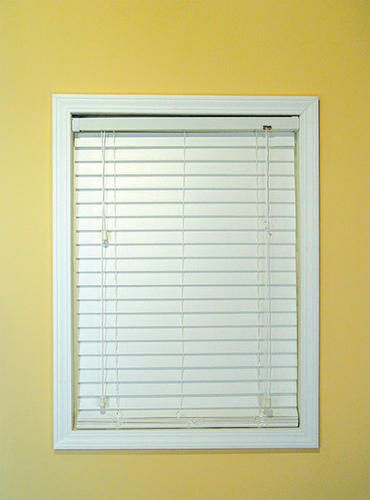Window Images Faux Wood Blind 24 Menards 5 Year Warr