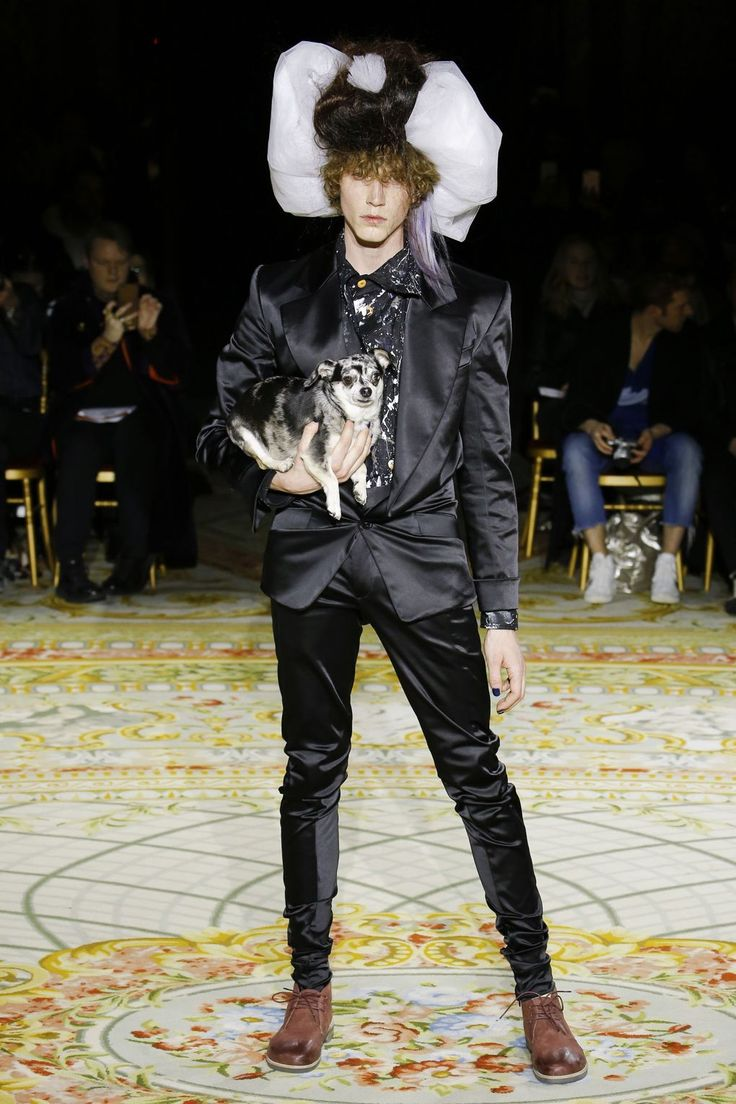 Couture Hat 6 by PRUDENCE MILLINERY Andreas Kronthaler for Vivienne Westwood AW2017/18