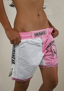 Kimurawear: Kimurawear Releases New Cut Women's MMA Fight Shorts!!!