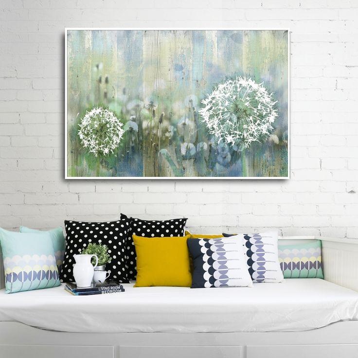 DANDELIONS MIXGALLERY flowers,meadows,wallart,canvas,canvas print,home decor, wall,framed prints,framed canvas,artwork,art