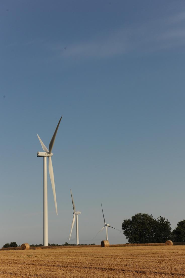 Parc éolien des Landes de Couesmé #GDFSUEZ #Eolien