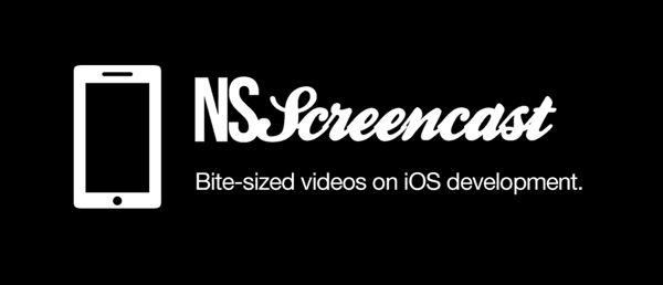 NSScreencast - Weekly bite-sized videos on iOS development.