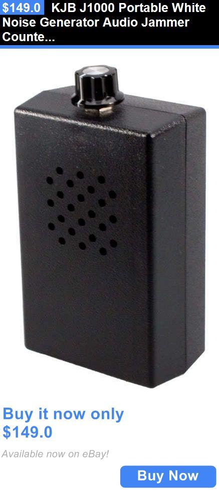 Surveillance Gadgets: Kjb J1000 Portable White Noise Generator Audio Jammer Counter Surveillance Stop BUY IT NOW ONLY: $149.0