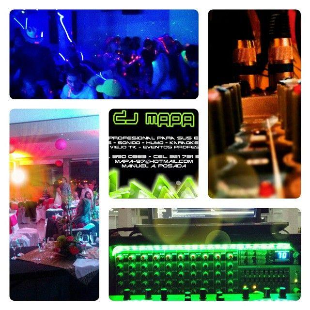 #PicsArt un poco de el trabajo de DJ MAPA Sonido Profesional