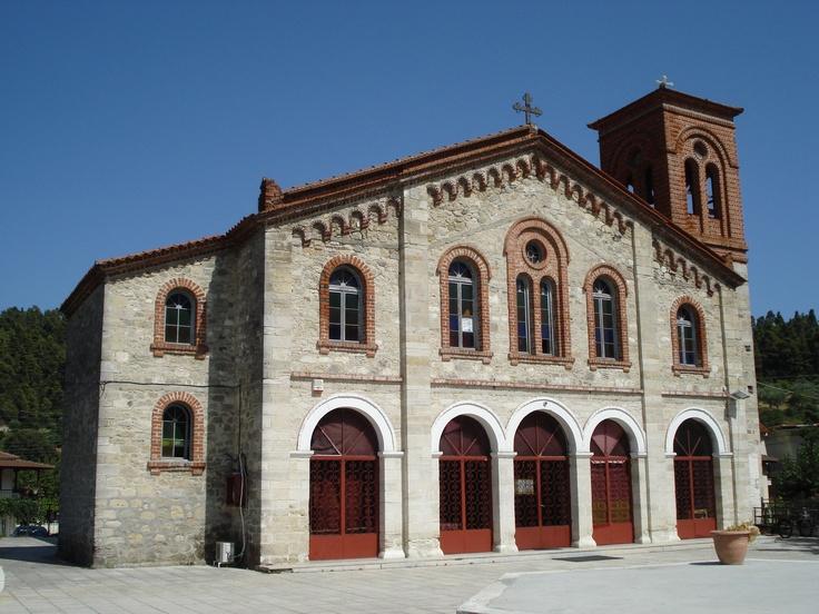 Church at Fourka - #halkidiki