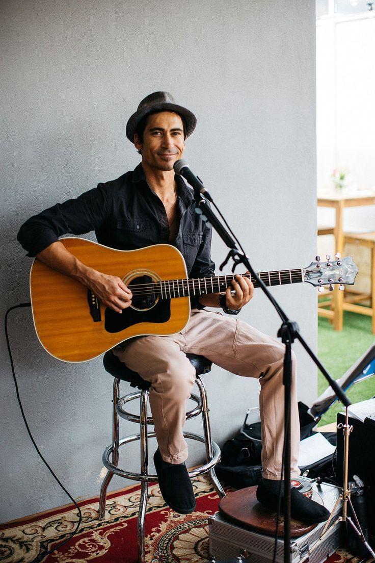 Benj Bernal Perth wedding musician