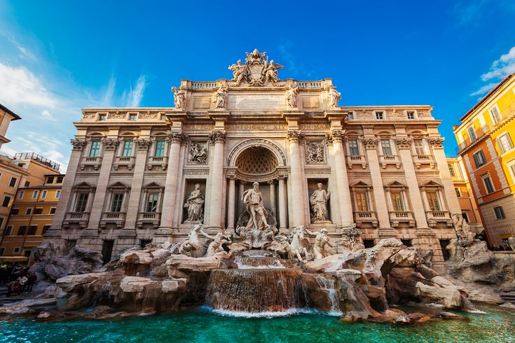 Finally The Trevi Fountain is flowing again !!!