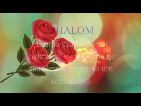 FALANDO DE VIDA!!: Um intenso um imenso Shalom - linda mensagem - vid...