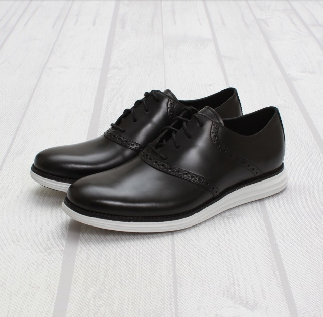 Fragment Design x Cole Haan Lunargrand Saddle Black-White