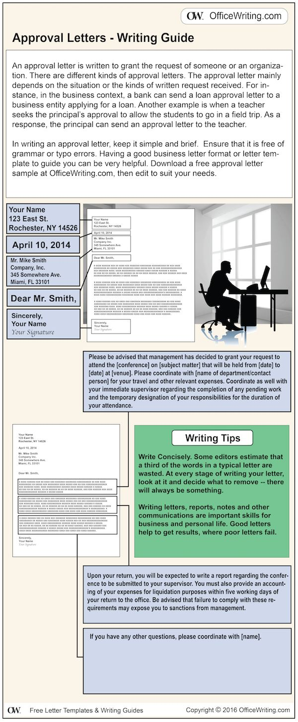 approval letter sample download free business templates infographic writing guide acceptance template and