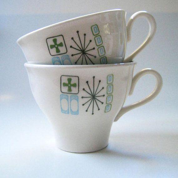 midcentury mugs
