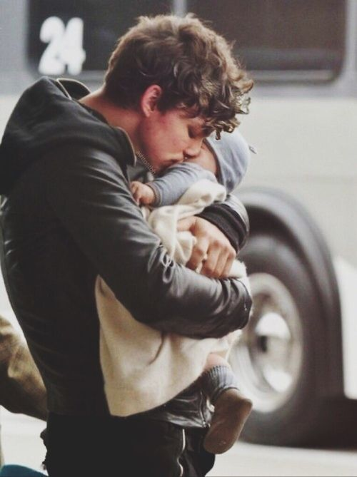 Erik & baby, Noah - I will always be there for you, I would die for you...