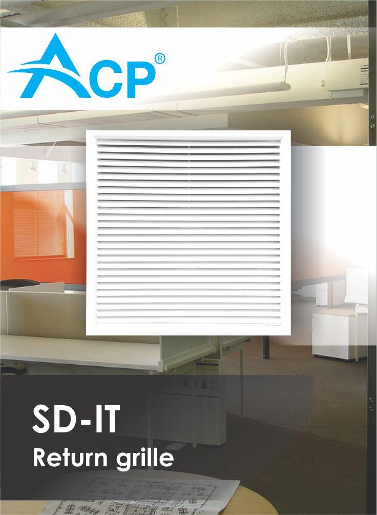 Return grill SD-IT