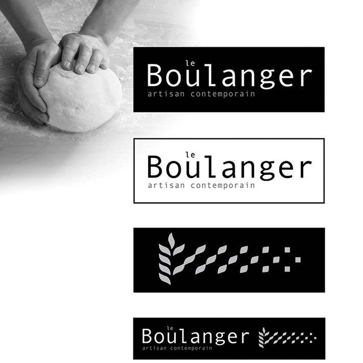 le Boulanger, bakery & retailer logo design