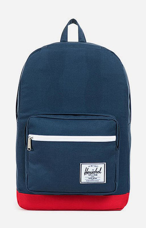 The Pop Quiz Classic Backpack is one of Herschel's quintessential back to school bag that features an extended assortment of pockets and organizers. http://www.zocko.com/z/JHxLY
