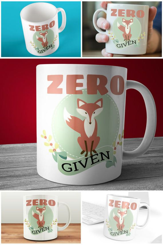 You'll be drinking your coffee from this Zero Fox Given Mug! https://www.etsy.com/uk/listing/520636221/zero-fox-given-mug-funny-fox-coffee-mug #prandski #mugsuk #foxmugs #funnymugs #muglife #muglove