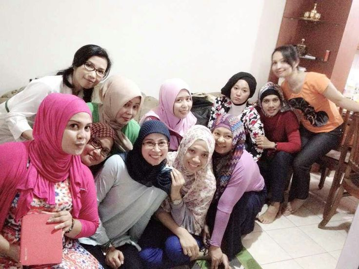 Photo session...after potluck party...