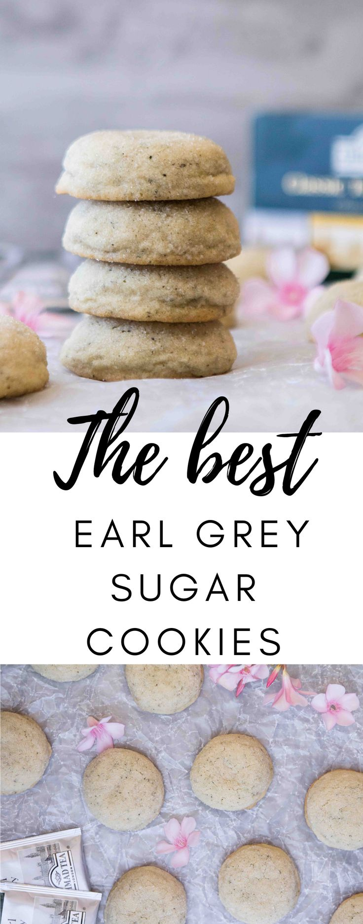 These thick earl grey cookies will melt in your mouth. They are a great and easy small batch tea sugar cookie recipe tha…