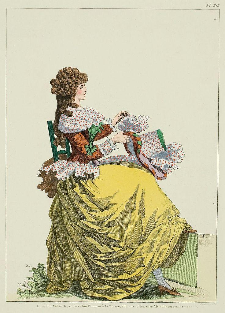 A Most Beguiling Accomplishment: Galerie des Modes, La Magasin des Modes, 30 November 1787.