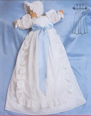 Платье для крестин выкройка