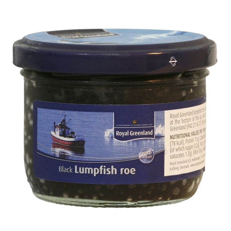 Buy Black Lumpfish Roe Online At Fine Food Specialist