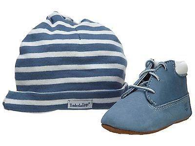 Timberland Hat Bootie Gift Set Crib  Crib Baby & Toddler Shoes Blue 9681R SZ-40