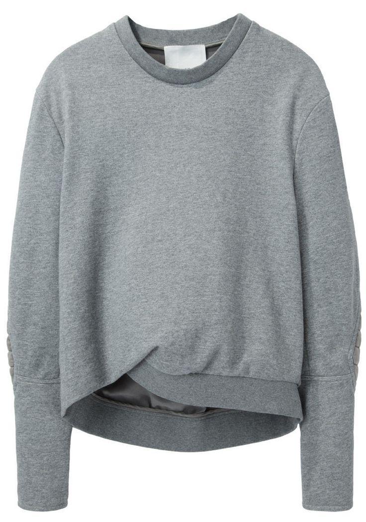 3.1 PHILLIP LIM | Biker Sleeve Sweatshirt | Shop at La Garçonne