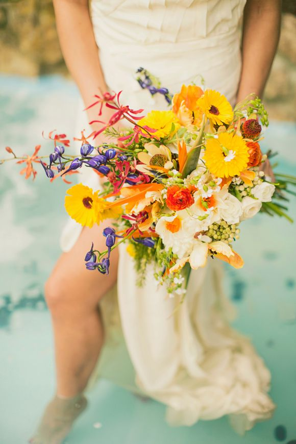 Spanish Wedding Inspiration by Alixann Loosle