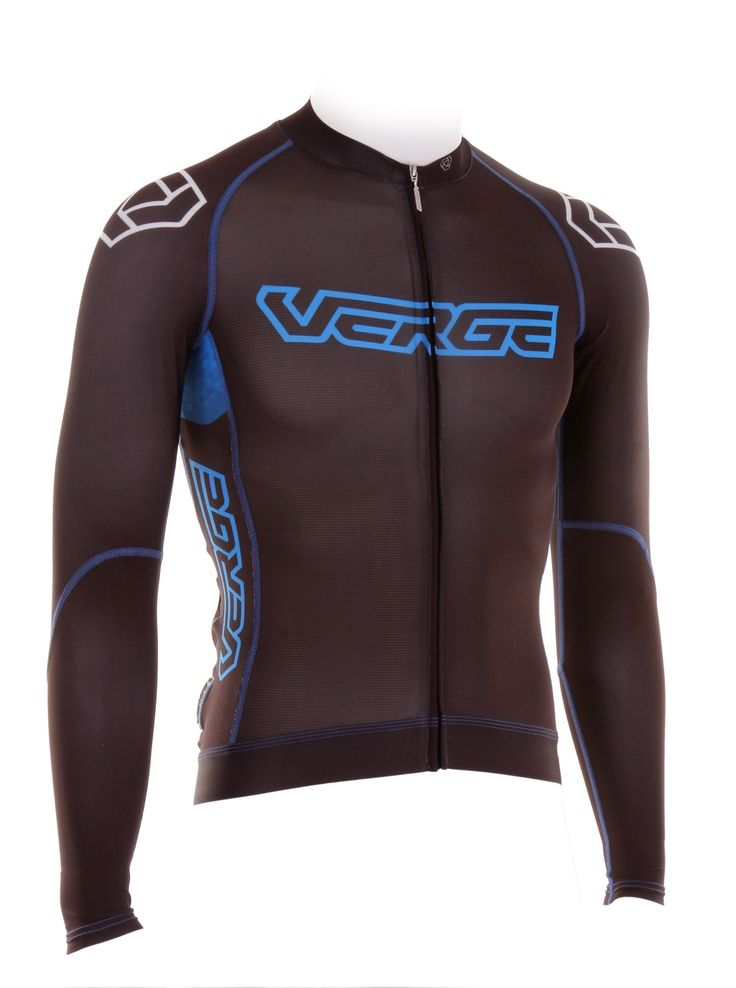 Verge Sport - Manufacturer of customized and semi-customized bicycle clothing and accessories - Jersey Men's Long Sleeve TOR