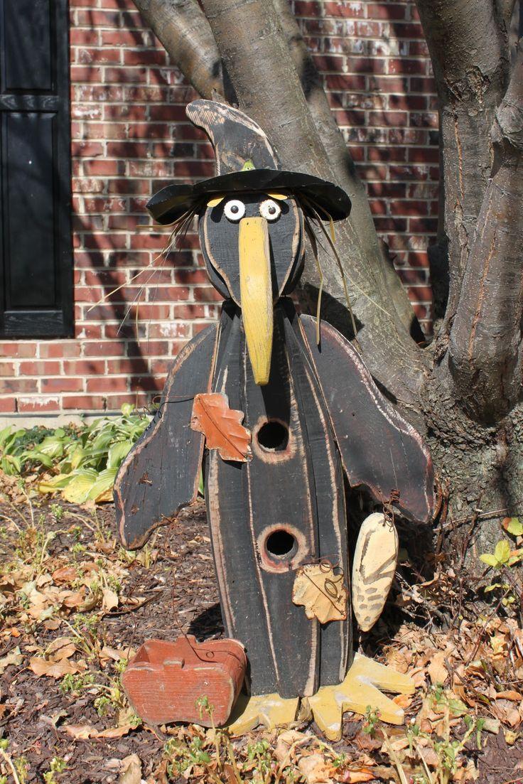 8 best Garden crafts/yard art images on Pinterest Garden art - scary halloween yard decorating ideas