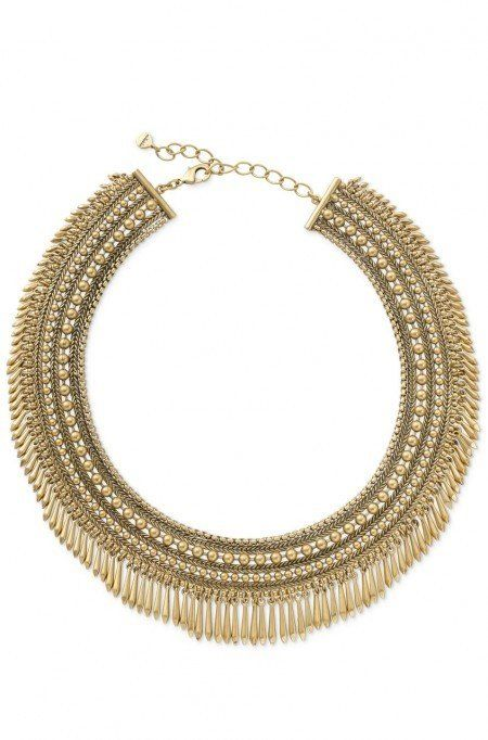 Add a little edge & a lot of glam with the gold Tansy Fringe Collar necklace at Stella & Dot.  Find fashion necklaces, trendy necklaces, pendants & more.