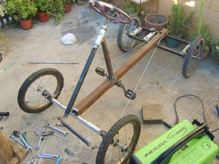Auto a pedales hecho con material reciclado! - Página 2 ...
